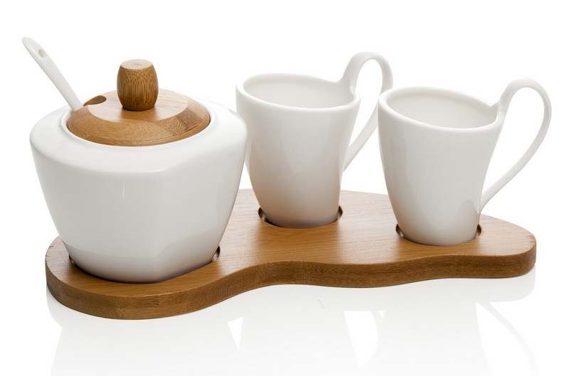 Set coffee bianco